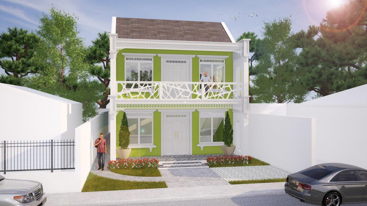 Casa estilo Victoriano